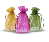 Velveteen Pouches and Organza Bags